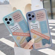 Cute Label Words iPhone Case