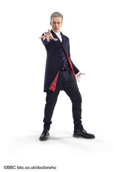 Capaldi is rockin' some Doc Marten's.  Ready to kick some ass!!  LOVE this look!