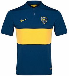 NIKE BOCA JUNIORS HOME JERSEY 2014/15 Be part of Boca Junios! Fans can celebrate their favourite team in style with this Boca Juniors Home Shirt. Styled in blue with a yellow stripe and Nike swoosh, B