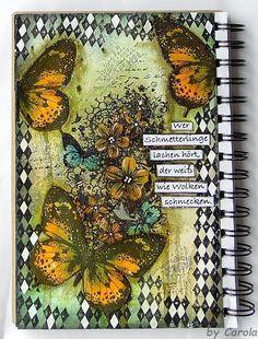 Caro´s Welt: Journalseite *Schmetterlinge*