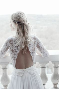 These are the most beautiful backless wedding dresses from - Beach Dresses Chic Wedding, Wedding Day, Beach Dresses, Wedding Dresses, Backless Wedding, Trends, I Dress, Most Beautiful, Beautiful Dresses