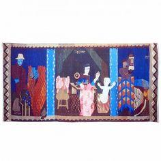 "Hannah Ryggen / absolutetapestry.com  ""Ugift mor "" - 1937 (Unmarried mother) 185x365 cm"