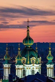St Andrew's - Kyiv - Ukraine, via elisabetta marseglia