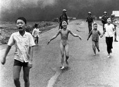 la terreur de la guerre - fille_Phan Kim Phuc THJ - Huyn Cong Ut 1973