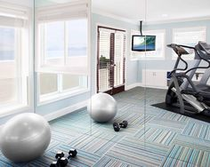 Home Gym Design, Pictures, Remodel, Decor and Ideas - page 8