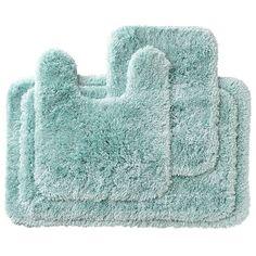 X Bathroom Bath Rug Mat Washable Mats Rugs Grey Gray Blue Aqua - Teal bath mat for bathroom decorating ideas