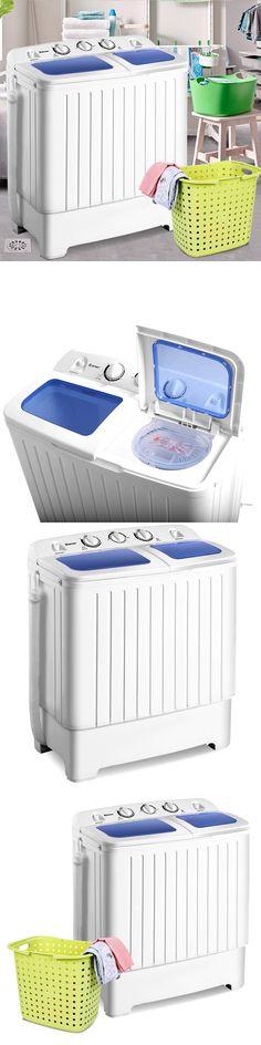 Washing Machines 71256 Portable Mini Compact Twin Tub 17 6lb Washer Spin Dryer Machine High Quality Buy It Now Only Twin Tub Washing Machine Dryer Machine