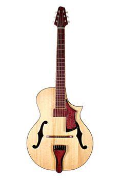 #Guitar #archtop Roper Guitars
