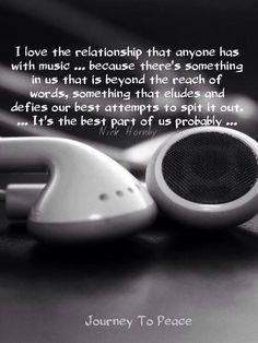 I feel sorry for people that have never experienced this... and think music is…