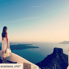 Unbelievable views!  #Santorini #Caldera #Imerovigli