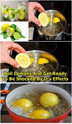 BOIL LEMONS AND DRINK THE LIQUID AS SOON AS YOU WAKE UP… YOU WILL BE SHOCKED BY THE EFFECTS