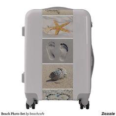 Beach Photo Set Luggage