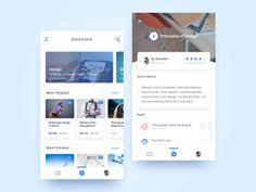 """Here is an app called """"Skill Up"""" - online courses for learning. Hope you like it. Ios 7 Design, Mobile Web Design, Dashboard Design, Web Design Trends, Design Design, Flat Design, Graphic Design, Application Mobile, Application Design"""