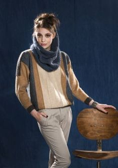 Cortez Pull › Pull › Femme › Laines Bouton d'Or Cortez, Knitwear, Button, Wool, Tricot, Stricken, Tuto Tricot, Knits