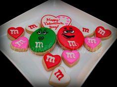 M & M s (Heart Cookie Cutter)