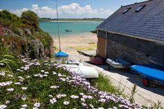 Photo of Hawker's Cove slipway - Padstow, Cornwall  -