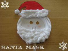 Santa Mask Craft