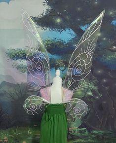 Tinkerbell Movies, Tinkerbell Fairies, Adult Fairy Wings, Cosplay Wings, Best Knots, Dark Wings, Puff Paint, Fall Halloween, Faeries