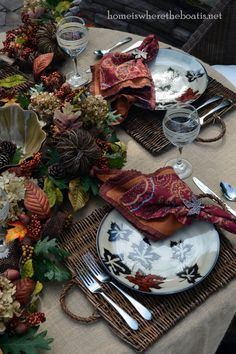 Enhancing Fall Garland – Home is Where the Boat Is