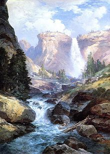 Thomas Moran: Under the Red Wall Grand Canyon of Arizona