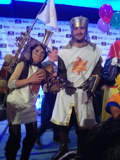 King Arthur and Patsy from Monty Python and the Holy Grail #montypython #cosplay