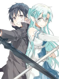 Sword Art Online | A-1 Pictures | Reki Kawahara | abec / Kirito and Asuna / 「無題」/「煮干」の漫画 [pixiv] [05]