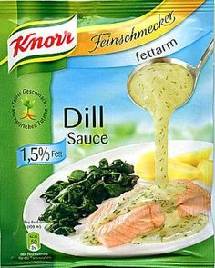 -in USA- Knorr Dill Sauce - ready sauce mix -