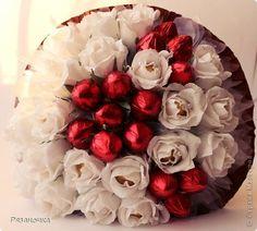 Бумагопластика - Клубника со сливками Candy Flowers