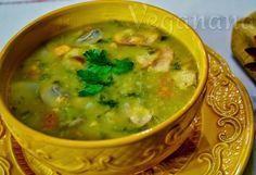 Sopa Cremosa de Grão de Bico - Veganana