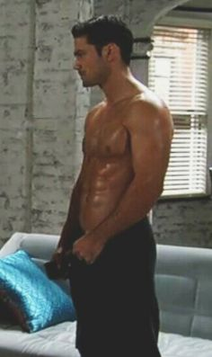Ryan Paevey, who plays Detective Nathan West, from the June 6, 2014 episode of General Hospital