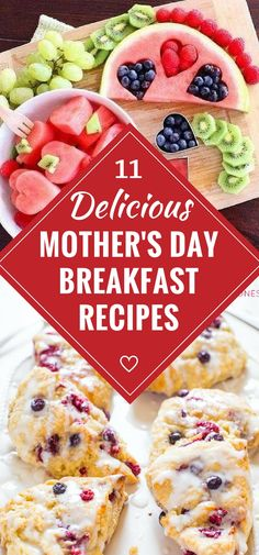 Mother's Day Breakfast recipes - Looking for delicious recipes for Mother's Day breakfast or brunch? Check out these scrumptious ideas...includes free Mother's Day printables! #mothersday #recipeoftheweek