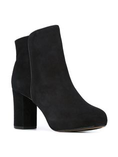 Schutz chunky heel ankle boots