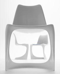 Nielaus 290 Stuhl - ein unbekannter Freischwinger-Designklassiker der 1960er Jahre.