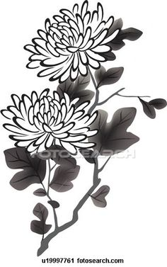 Chrysanthemum royalty-free chrysanthemum stock vector art & more images of autumn Flower Painting, Ink Art, Drawings, Drawing Illustrations, Ink Pen Drawings, Sumi E Painting, Chrysanthemum Drawing, Art, Flower Illustration