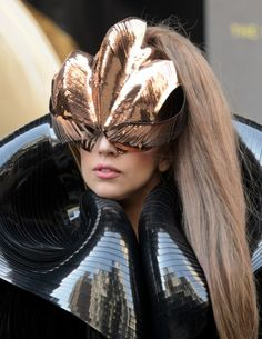 Iris van Herpen for Lady Gaga