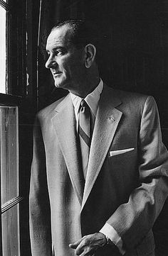 August 27, 1908: Birth of Lyndon B. Johnson    On this day in 1908, former president Lyndon B. Johnson was born in Stonewall, Texas. He succeeded to the presidency after the assassination of John F. Kennedy in 1963.