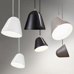 Nyta Tilt Pendant Light Small, Matte Finish Metal, 9.5u201d H X 7.1u201d Awesome Design