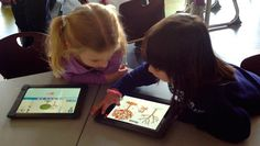 Scratch Junior is a version of Scratch for younger children that works on the iPad.