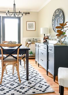 Bon Simple And Neutral Fall Home Tour. Family Room WallsDining ...