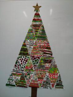 grade 3/4 christmas display   by royalfern