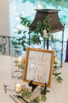 Wedding Sign Ideas: