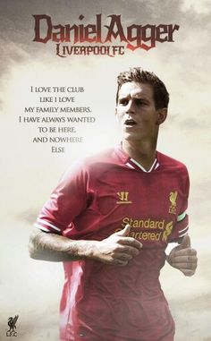 One of the best centre backs in the world Danny Agger