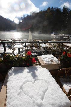 Winter am Riessersee, Garmisch-Partenkirchen, Bayern - www.riessersee.com/