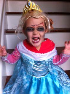 9 Best Zombie Elsa Images In 2016 Zombie Elsa Halloween Makeup