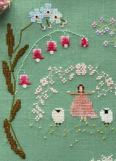 Time of Flowers Cross Stitch Kit Now Available for Pre-Order