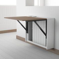 10 n tzliche ideen f r einen klapptisch im k chenbereich. Black Bedroom Furniture Sets. Home Design Ideas