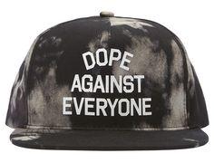 d3ab3b34de8 Cloud Wash Against Everyone Snapback Cap by DOPE. Ohsnapbacks.com · Snapback  Caps