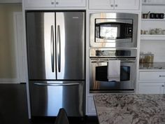 refrigerator on one wall - Google Search