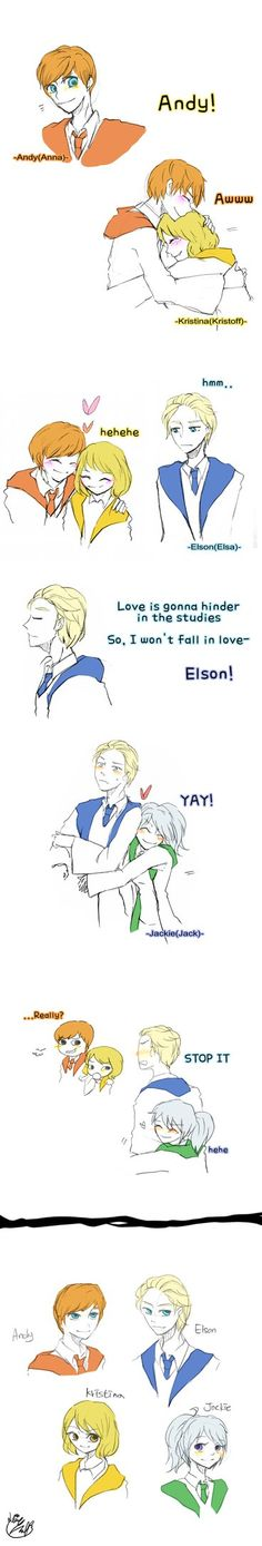 The Big four and Elsa Doodles by Lime-Hael on DeviantArt Disney And Dreamworks, Disney Pixar, Walt Disney, Funny Disney, Disney Couples, Frozen Disney, Disney Hogwarts, Harry Potter Disney, Nickelodeon Cartoons