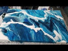 Large canvas flip and drag. Acrylic pouring, fluid art! - YouTube Acrylic Pouring Techniques, Painting Techniques, Art Tumblr, Chalk Ink, Pour Painting, Large Canvas, Disney Drawings, Acrylic Art, Art Tutorials